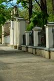 De poort van de charmante Oekraïense stad van ivano-Frankivsk ukraine stock foto