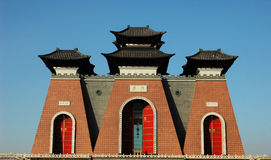 De Poort van China Stock Afbeeldingen