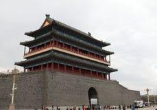 De poort van China Peking Zhengyang Royalty-vrije Stock Foto