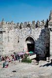 De poort van Damascus Stock Afbeeldingen