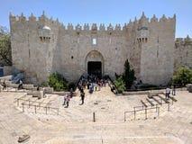 De poort van Damascus stock afbeelding