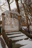 De poort van de begraafplaats Royalty-vrije Stock Afbeeldingen