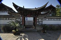 De poort van de binnenplaats Stock Afbeeldingen