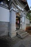 De poort van de binnenplaats Stock Foto