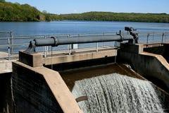 De poort van de dam Royalty-vrije Stock Foto