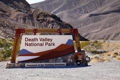 De Poort van de doodsvallei Royalty-vrije Stock Afbeelding
