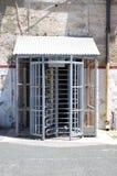 De poort van de gevangenis royalty-vrije stock foto