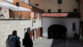 De Poort van de Gradecsteen, Zagreb stock videobeelden