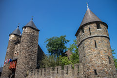 De Poort van de Hel van Maastricht - Helpoort Stock Foto's