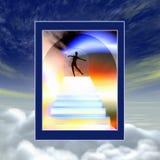 De poort van de hemel stock illustratie