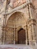 De poort van de kathedraal Stock Fotografie