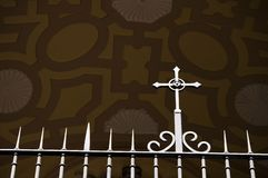 De Poort van de kerk Stock Fotografie