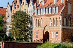De Poort van de koe in Gdansk Royalty-vrije Stock Foto's