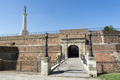 De Poort van de koning bij de Vesting van Belgrado, Servië Royalty-vrije Stock Afbeeldingen