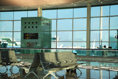 De poort van de luchthaven Stock Afbeeldingen