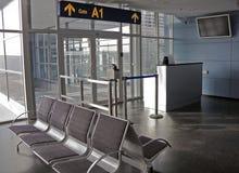 De poort van de luchthaven Royalty-vrije Stock Afbeelding