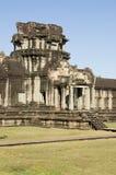 De Poort van de olifant, Angkor Wat Stock Afbeelding