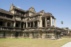 De Poort van de olifant, Angkor Wat Stock Fotografie
