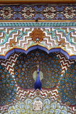 De Poort van de pauw, het Paleis Jaipur van de Stad Royalty-vrije Stock Foto's