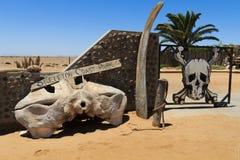 De poort van de skeletkust Royalty-vrije Stock Afbeelding