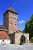 De poort van de stad Royalty-vrije Stock Foto