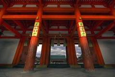 De Poort van de tempel Royalty-vrije Stock Foto