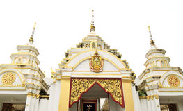 De poort van de tempel in Thailand Royalty-vrije Stock Fotografie