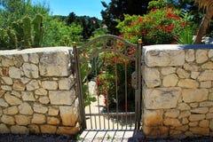 De Poort van de tuin Stock Afbeeldingen