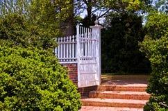 De Poort van de tuin Stock Foto