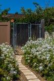 De poort van de tuin Royalty-vrije Stock Foto's