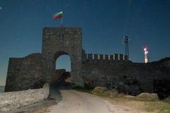 De poort van de vesting Kaliakra in Bulgarije Royalty-vrije Stock Afbeeldingen