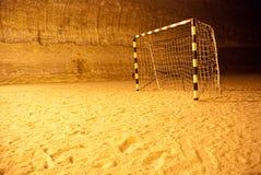 De poort van de voetbal Stock Fotografie