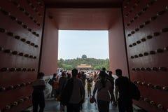 De poort van Goddelijk zou kunnen Stock Fotografie