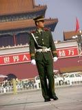 De Poort van Tiananmen in Peking Royalty-vrije Stock Foto's