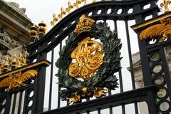 De Poort van het Buckingham Palace Stock Afbeeldingen