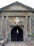 De poort van het Fort Royalty-vrije Stock Afbeeldingen