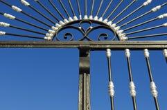 De poort van het ijzer Stock Afbeelding