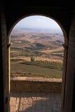 De poort van het kasteel stock foto's