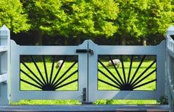 De poort van het land Stock Foto