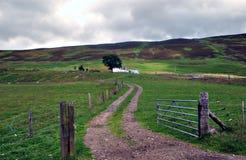 De Poort van het landbouwbedrijf Royalty-vrije Stock Fotografie
