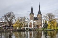 De Poort van het Oosten van Delft royalty-vrije stock fotografie