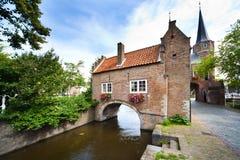De Poort van het oosten in Delft - Holland Royalty-vrije Stock Fotografie