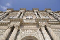 De poort van het Paleis van Dolmabahce Royalty-vrije Stock Foto's