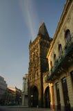 De Poort van het poeder, Praag Stock Foto