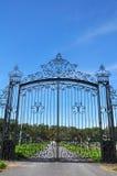 De poort van het smeedijzer Royalty-vrije Stock Foto's