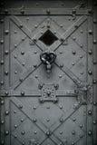 De poort van het smeedijzer. Royalty-vrije Stock Foto's
