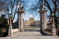 De Poort van het Wilanó w Paleis Royalty-vrije Stock Foto