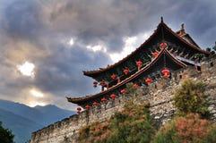 De Poort van het zuiden, Dali Oude Stad, Yunnan Stock Afbeeldingen