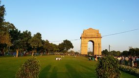 De poort van India, New Delhi India Royalty-vrije Stock Fotografie