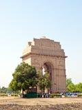 De Poort van India in New Delhi Stock Afbeeldingen